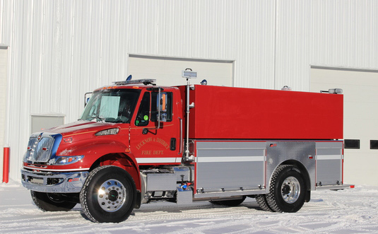 INTERNATIONAL 4400 FIRE TANKER – PUMP – SINGLE AXLE – 1500