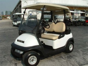Club Car Blanco 1 Asiento