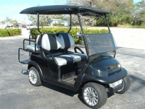 Club Car Precendent Negro 4 Personas Stock