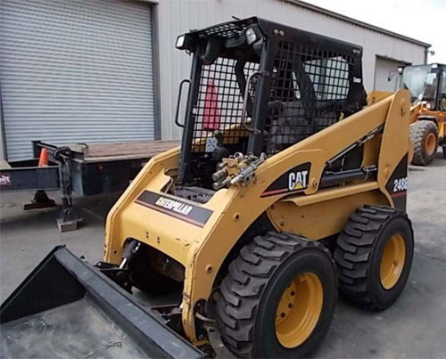 2006 caterpillar 248 skid steer