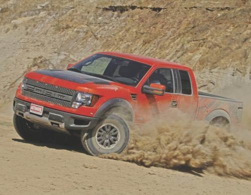Ford Raptor - Ford Lobo Raptor SVT