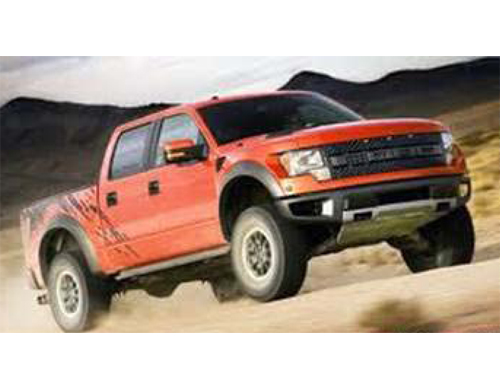 Ford Raptor Rojo