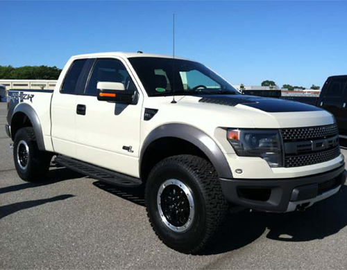 Ford Raptor blanco