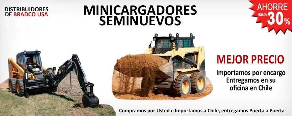 Minicargadores seminuevos