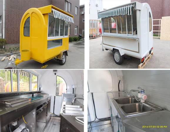 food trailers CARRO DE COMIDA CLUB 22B-23