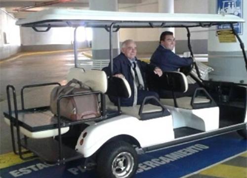 HOTEL SHERATON MIRAMAR Carro de golf marca CLUB