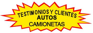 testimonials vehiculos