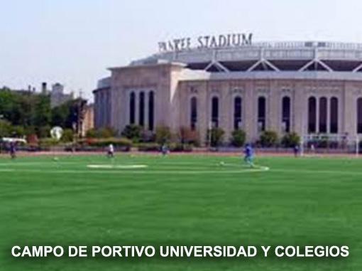 CAMPO DE PORTIVO UNIVERSIDAD Y COLEGIOS