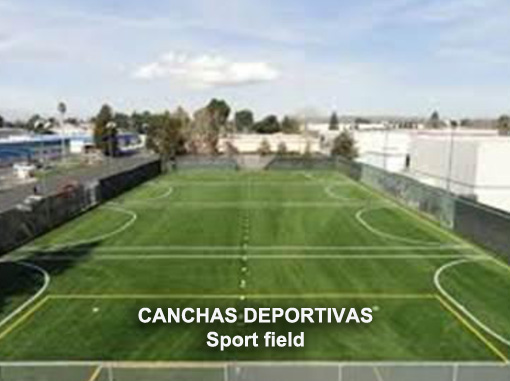 CANCHAS DEPORTIVAS sports field