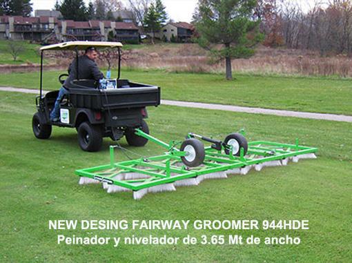 NEW DESING FAIRWAY GROOMER 944HDE Peinador y nivelador de 3.65 Mt de ancho
