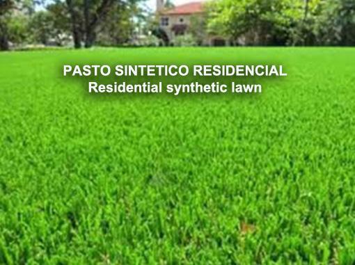 PASTO SINTETICO RESIDENCIAL
