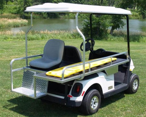 AMBULANCIA CLUB CAR PRECEDENT ELECTRICO