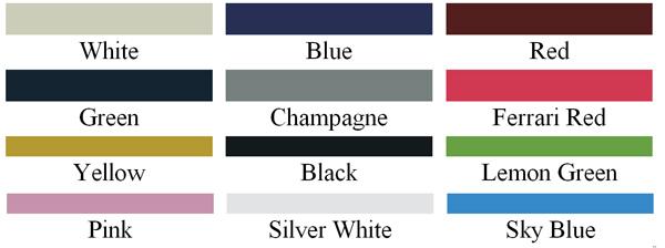 Auto eléctrico marca CLUB colors