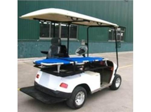 Carro ambulancia eléctrico marca Club