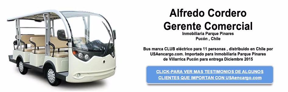 bus marca CLUB electrico para 11 personas slide