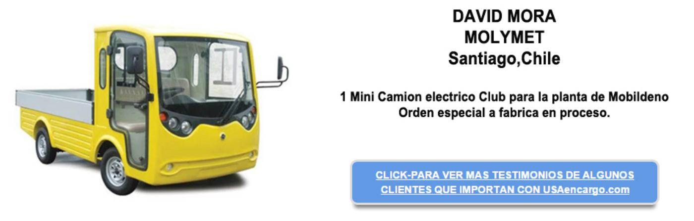 Camion Electrico Club testimonial