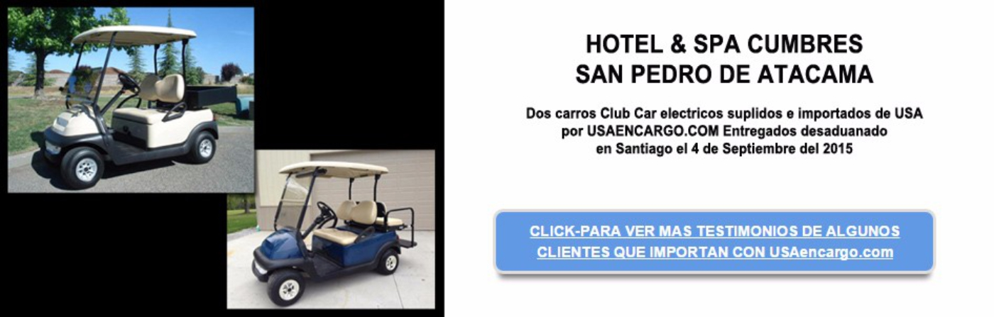 dos carros club car electricos suplidos slide