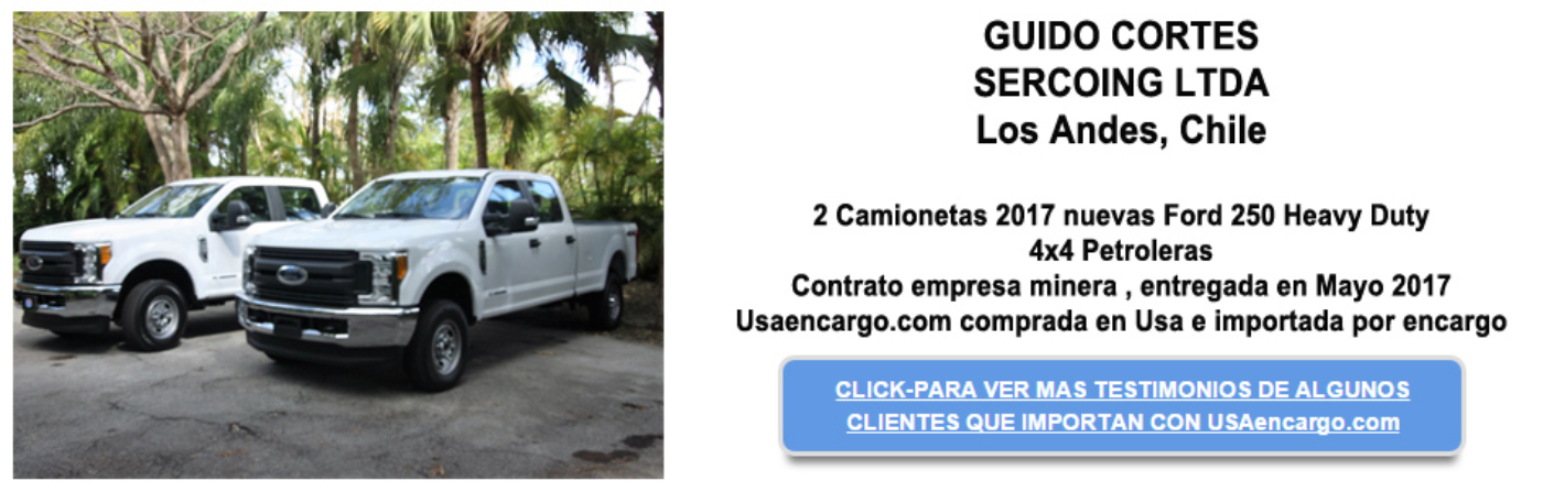 Ford 250 testimonial