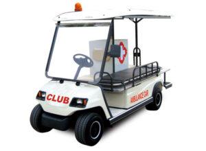 Carros Ambulancia eléctricos marca Club