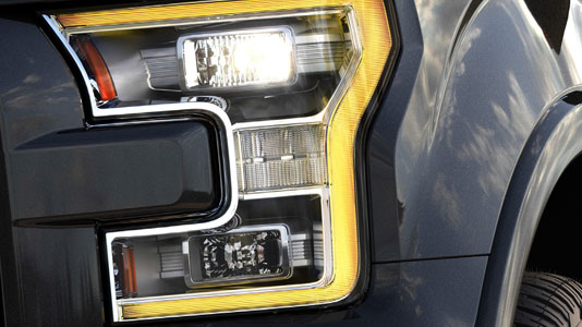 Quad Beam LED Headlamps and LED Taillamps
