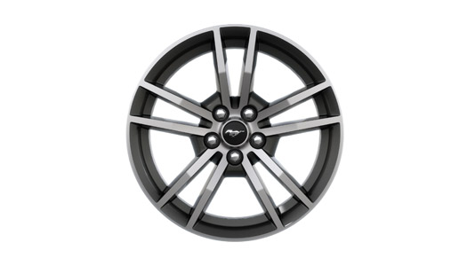 "18"" Magnetic Gloss painted/machined aluminum wheels"