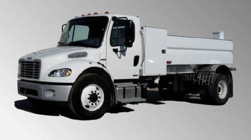 2015 Ford / Freightliner M2 - 2 Door Water Delivery