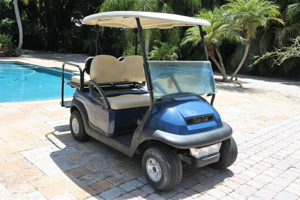 Club Car Precedent  - Baterias Nuevas  2016 - Azul