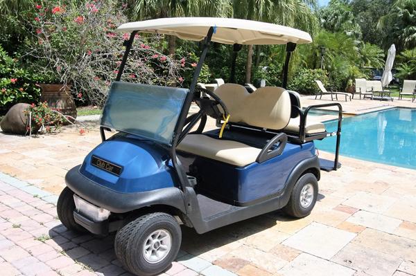 Club Car Precedent  – Baterias Nuevas  2016 – Azul