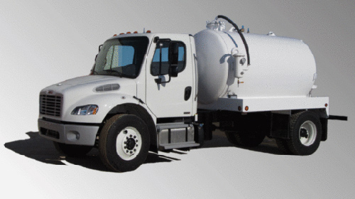 2015 Freightliner M2 - 2 Door Septic