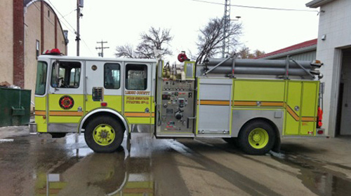 2002 MXV Pumper HME Custom Chassis