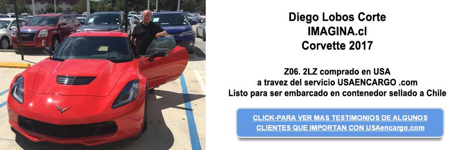 2017 Corvette Ya tienes tu Corvette espero  el titulo para embarcarlo