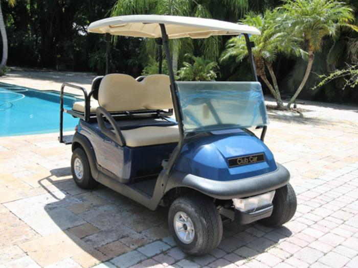 Club Car Precedent – Baterias Nuevas 2017 – Azul