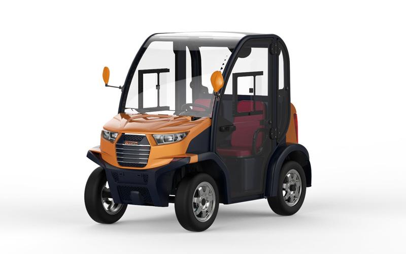 Club 6211 Mini Car Electrico Golden
