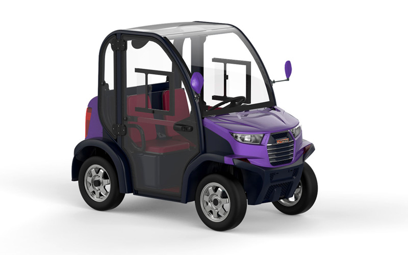 Club 6211 Mini Car Electrico Purple