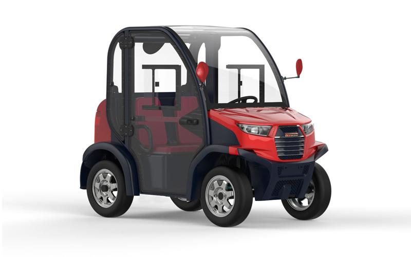 Club 6211 Mini Car Electrico Red