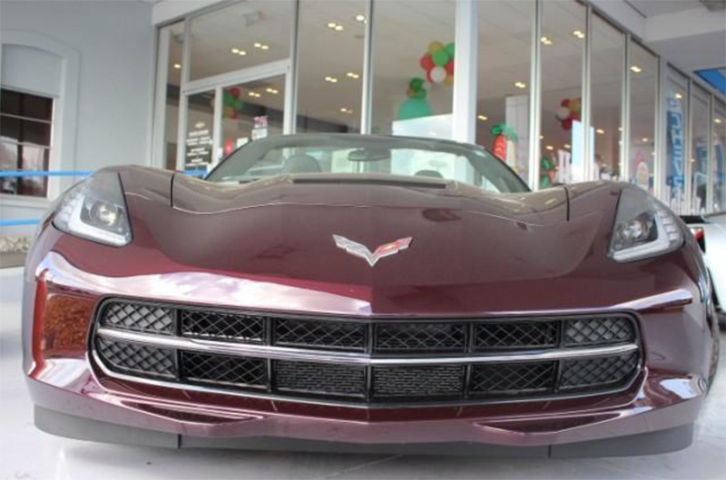 CHEVROLET CORVETTE STINGRAY CONVERTIBLE 1LT