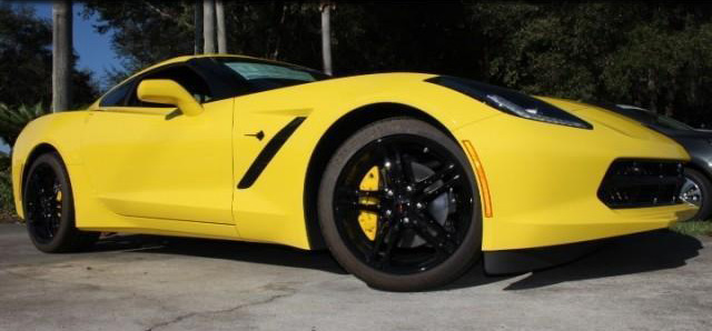NEW 2017 CHEVROLET CORVETTE STINGRAY COUPE 2LT