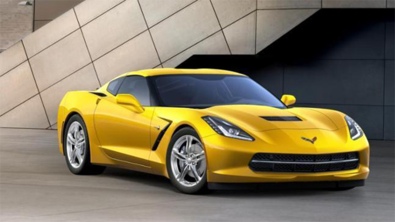 CHEVROLET CORVETTE STINGRAY COUPE 2LT