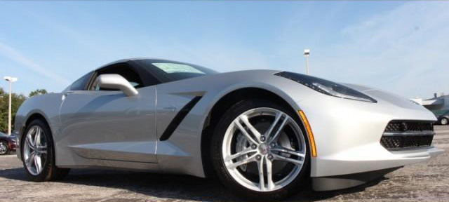NEW 2017 CHEVROLET CORVETTE STINGRAY COUPE 3LT