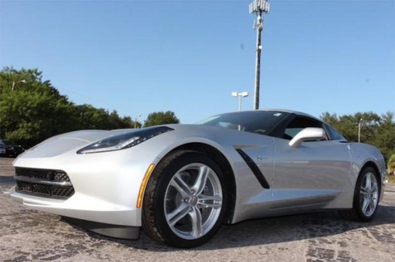 CHEVROLET CORVETTE STINGRAY COUPE 3LT