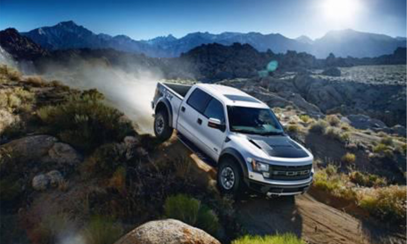 Camioneta Raptor 2017