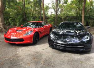 2 Corvettes 2017 importados por usaencargo.com para: