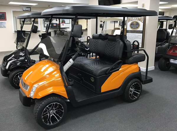 E- SERIES 2017 4 Pasajeros Orange