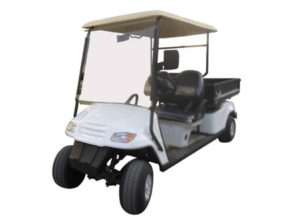 Club 2049 golf car electrico 2 asientos con caja de carga manual