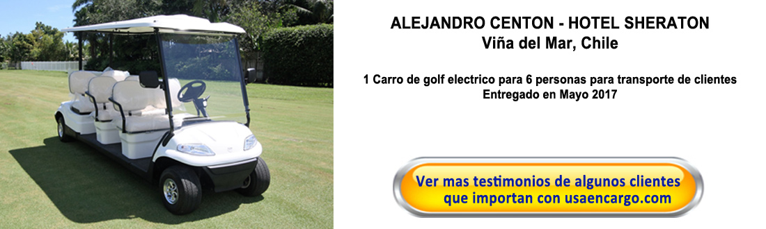 carro de golf electrico testimonial
