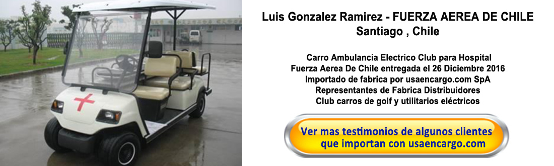 ambulance carros golf