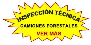 camiones forestales inspeccion