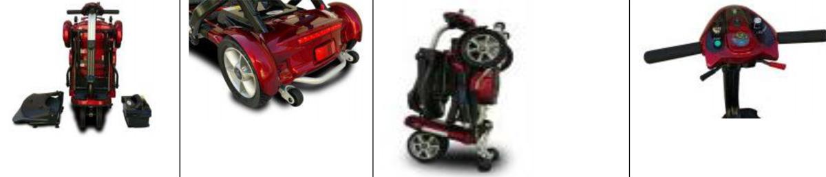 TRANSPORT PLUS scooter mutliple views