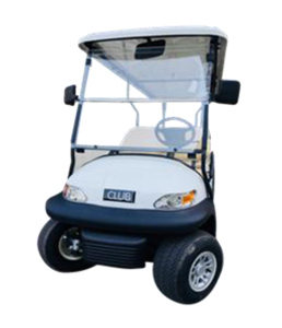Golf Cart E326 front view