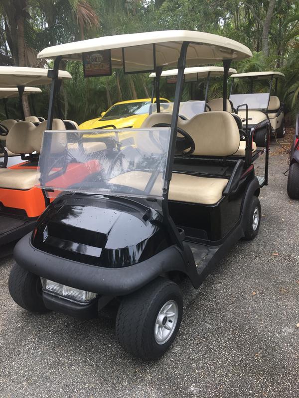 Carro de Golf Club Car   4 pasajeros testimonios